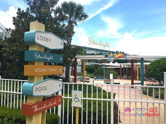 Universal Orlando Cabana Bay Beach Resort Starlight section