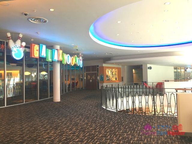 Bowling Alley Entrance