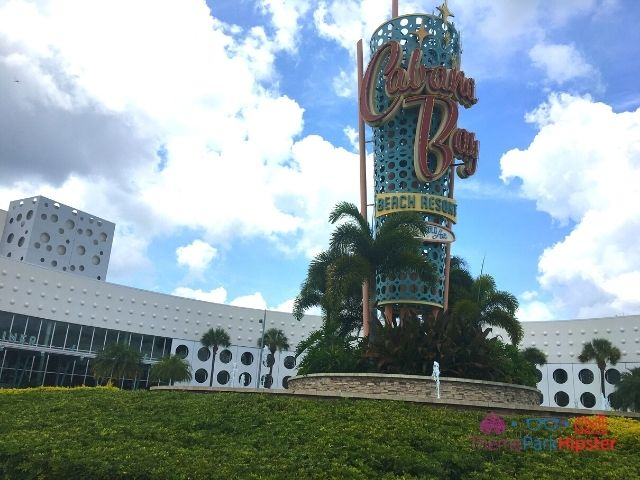 Universal Orlando Cabana Resort Famous Entrance