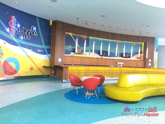 Universal Orlando Cabana Resort Lobby and Bar Area