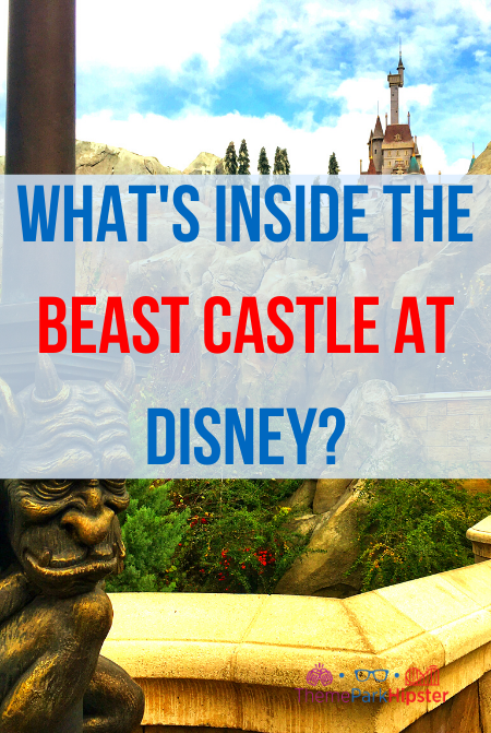What is inside the beast castle at Disney World Magic Kingdom
