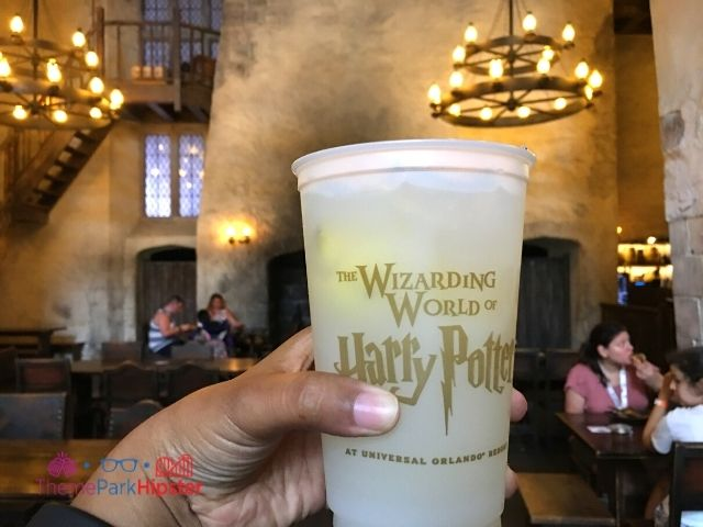 Wizarding World of Harry Potter Lemon Fizzy Drink at the Leaky Cauldron