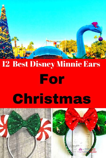 12 Best Disney Minnie Ears For Christmas
