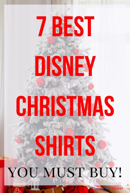 7 best disney christmas shirts