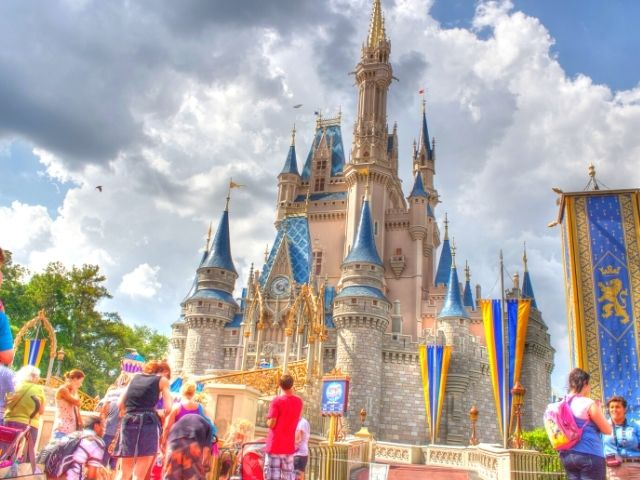 Cinderella Castle at the Magic Kingdom in Orlando Florida Solo Disney Trips