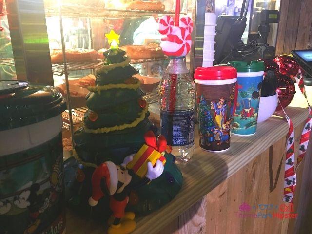 Disney Springs Christmas Tree Souvenirs and Treats