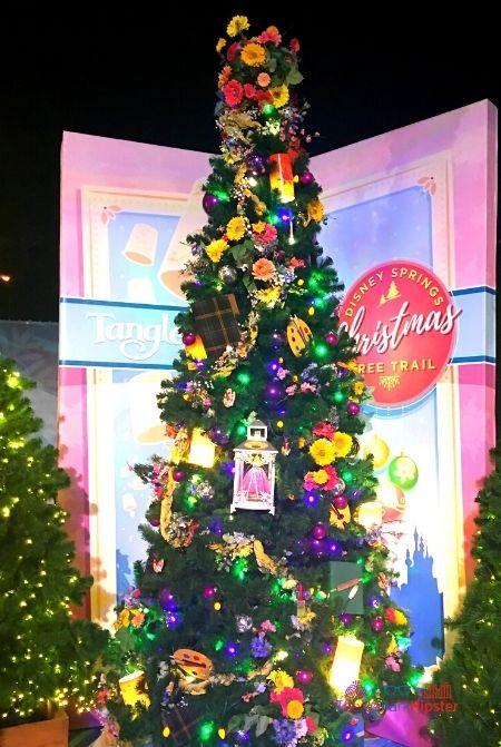 Disney Springs Christmas Tree Tangled