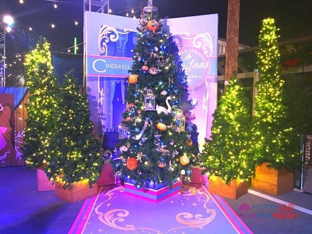Disney Springs Christmas Tree Trail Cinderella