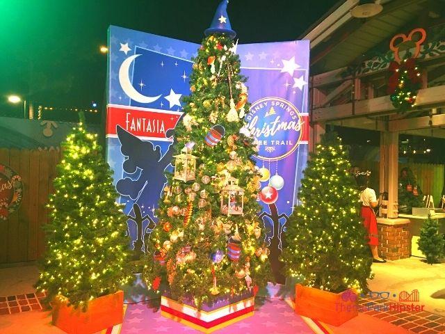 Disney Springs Christmas Tree Trail Fantasia