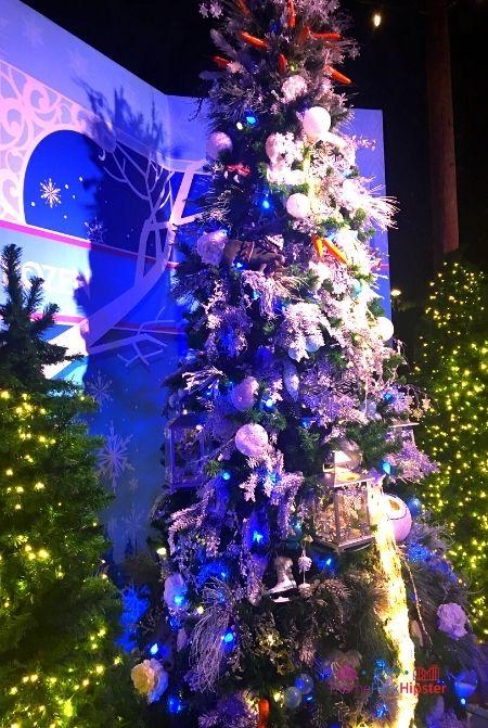 Disney Springs Christmas Tree Trail Frozen