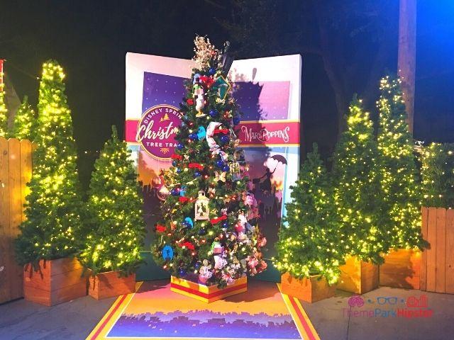 Disney Springs Christmas Tree Trail Mary Poppins