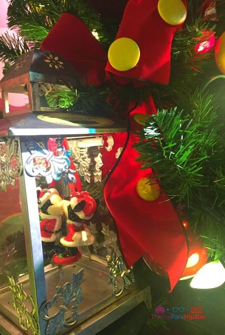 Disney Springs Christmas Tree Trail Mickey and Minnie Mouse