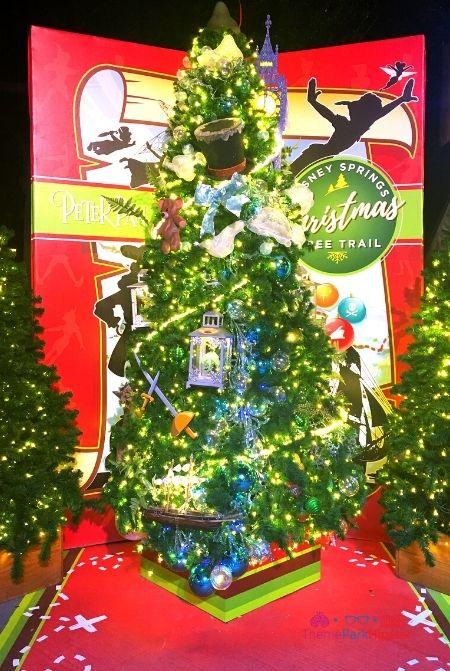 Disney Springs Christmas Tree Trail Peter Pan 44