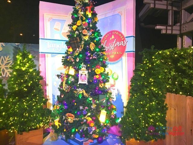 Disney Springs Christmas Tree Trail Rapunzel