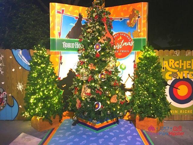 Disney Springs Christmas Tree Trail Robin Hood