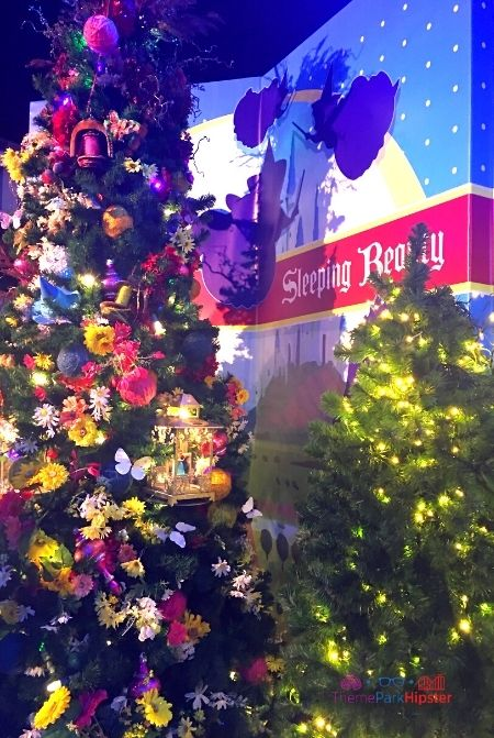 Disney Springs Christmas Tree Trail Sleeping Beauty