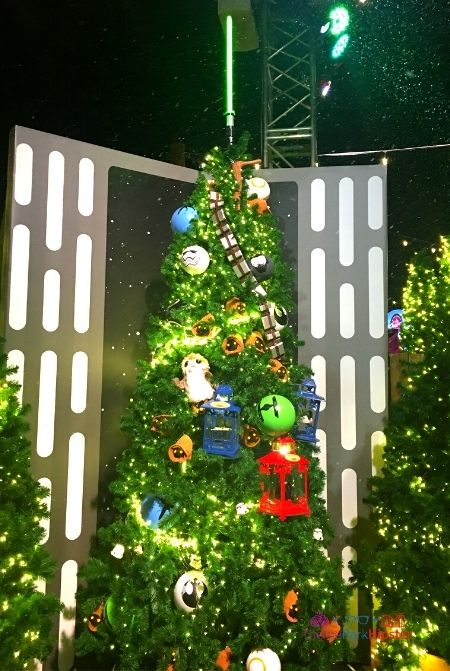 Disney Springs Christmas Tree Trail Star Wars
