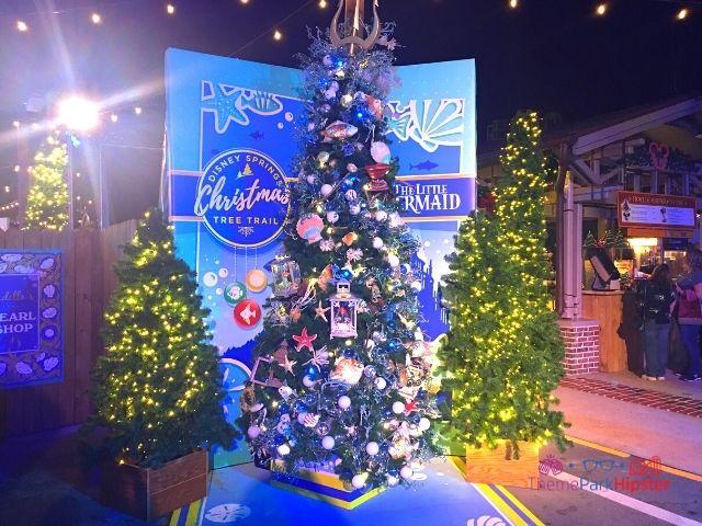 Disney Springs Christmas Tree Trail The Little Mermaid