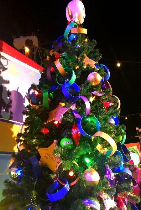 Disney Springs Christmas Tree Trail Toy Story