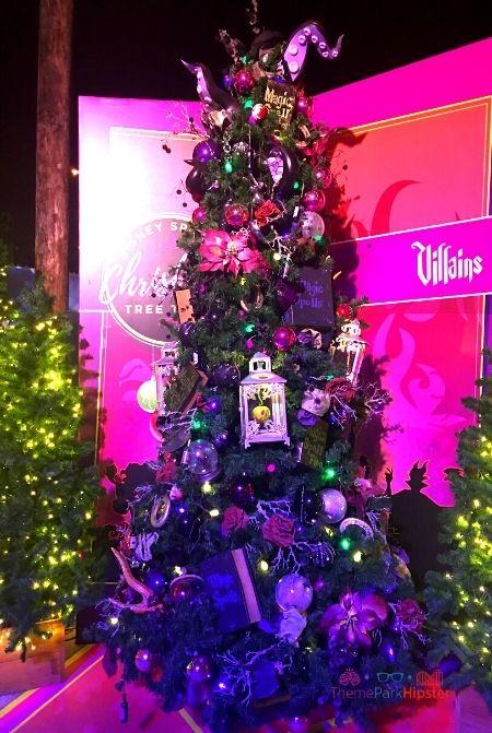 Disney Springs Christmas Tree Trail Villains