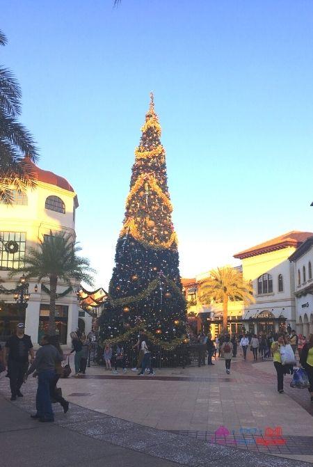 Disney Springs Christmas Tree at Entrance
