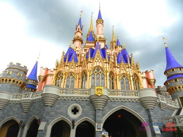 Magic Kingdom Cinderella Castle from the Back