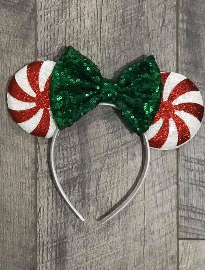 Peppermint Disney Christmas Ears