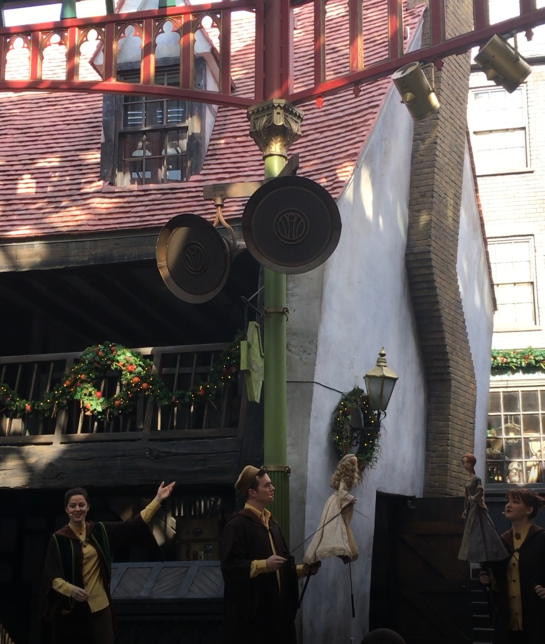 Tales of Beedle the Bard Puppets at Universal Studios Florida