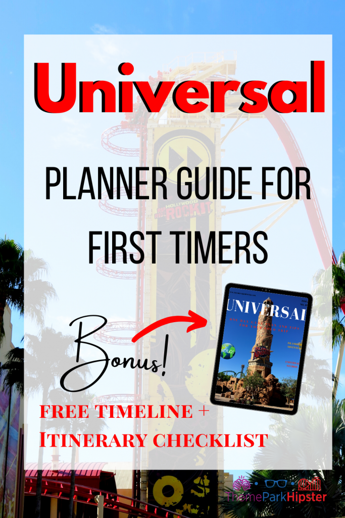 FREE Printable Guide for Planning your Universal Orlando Resort