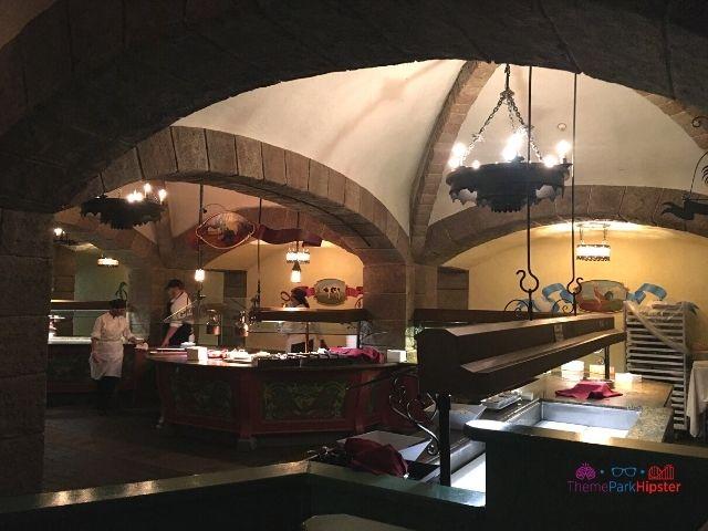 Biergarten Epcot Buffet Area