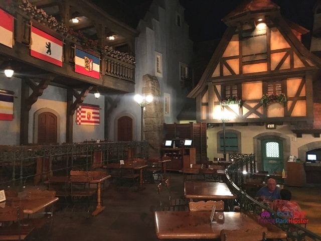 Germany Pavilion Epcot Dining Area