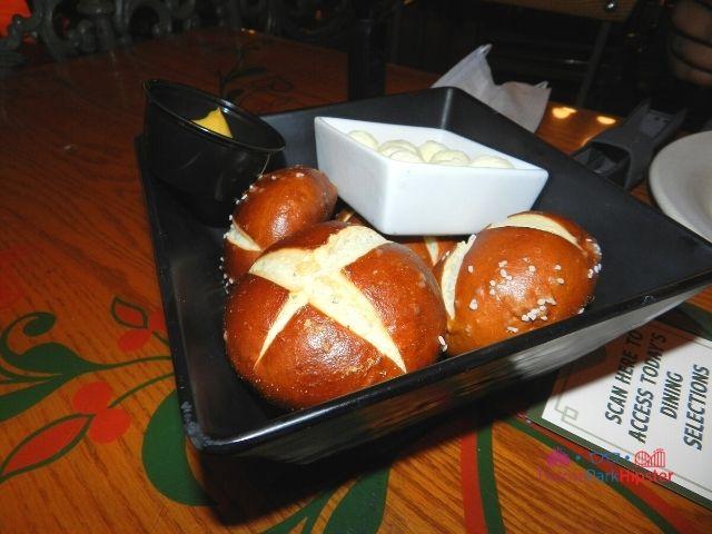 Biergarten Epcot pretzel bread