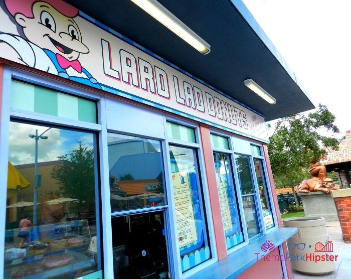 Entrance to Lard Lad Donuts in Universal Studios