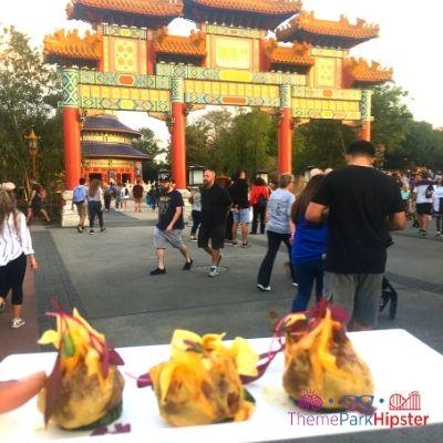 Epcot Festival of the Art China Chicken Crunchy Dumplings