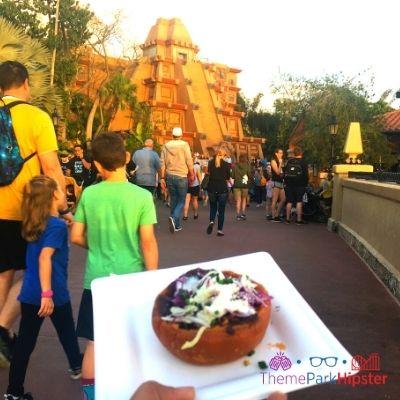 Epcot Festival of the Art Mexico Sweet Potato Tortilla