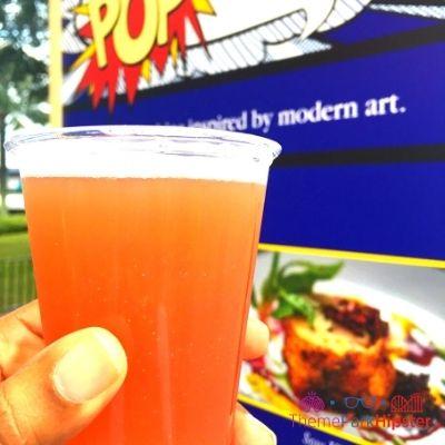 Epcot Festival of the Art Pop Eats Glitter Beer