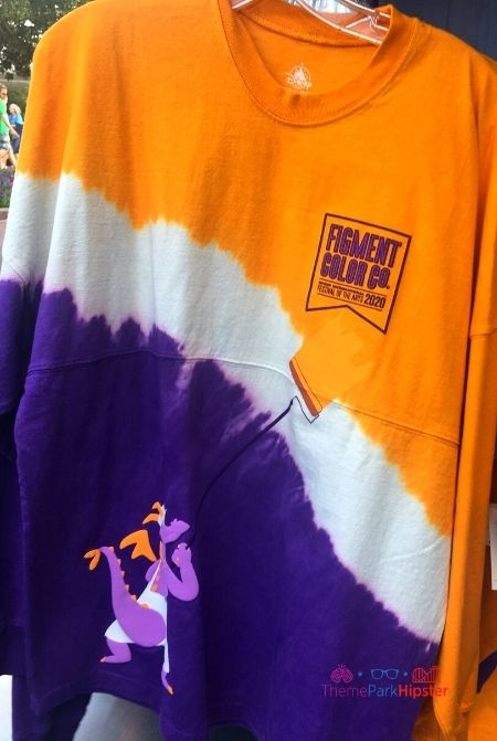 Epcot Festival of the Arts Merchandise Figment Tie Die Shirt