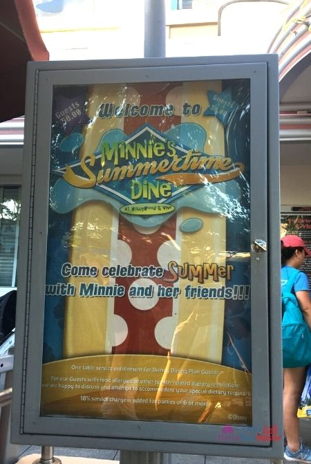Fantasmic Dining Package at Disney Hollywood Studios Minnies Summertime Dine