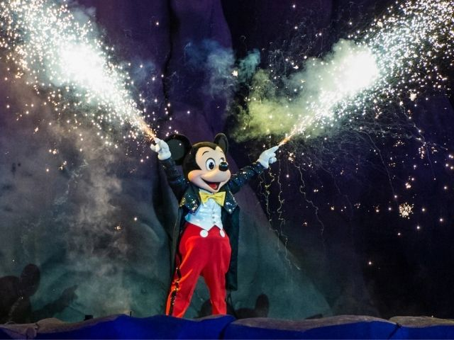 Fantasmic Disney Company Photo