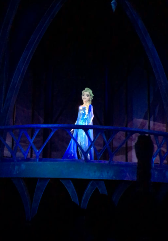 Frozen Ever After Ride with Elsa
