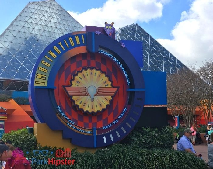 Journey into Imagination Ride at Epcot Entrance. One of the best Epcot attractions.