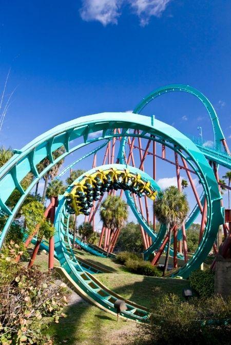Kumba Busch Gardens Roller Coaster