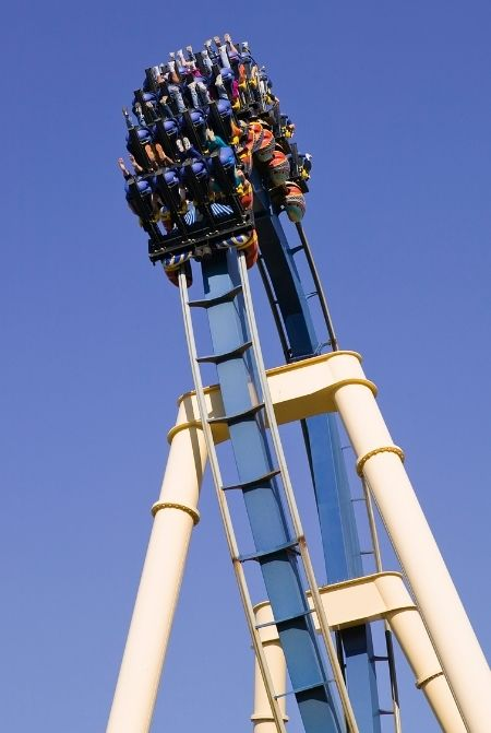 Montu Busch Gardens Roller Coaster