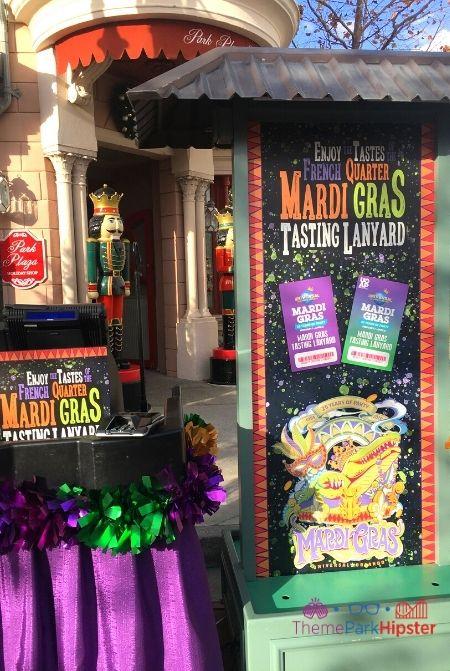 Universal Studios Mardi Gras Tasting Lanyard