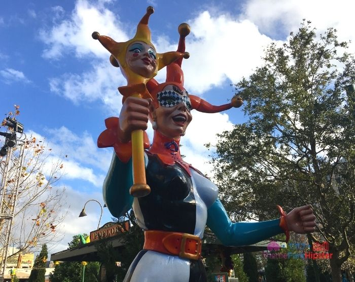 Universal Studios Mardi Gras French Joker
