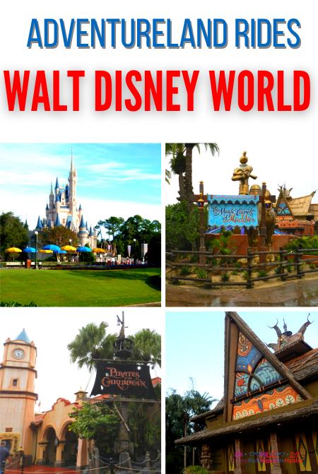 Adventureland Rides at Disney World