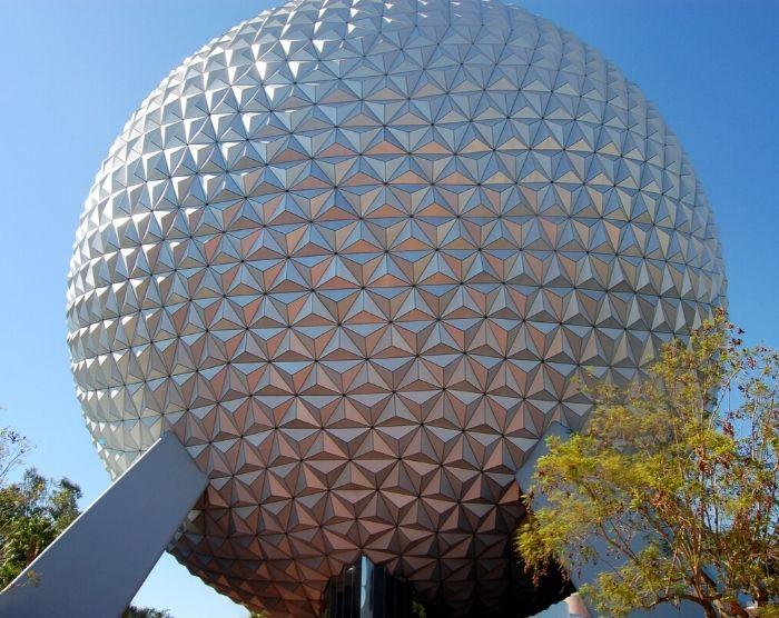 Epcot Spaceship Earth in Orlando Florida