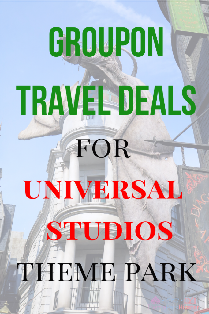 Groupon travel deals for Universal Studios Orlando