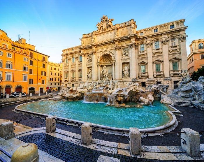 Italy Neptune Fountain