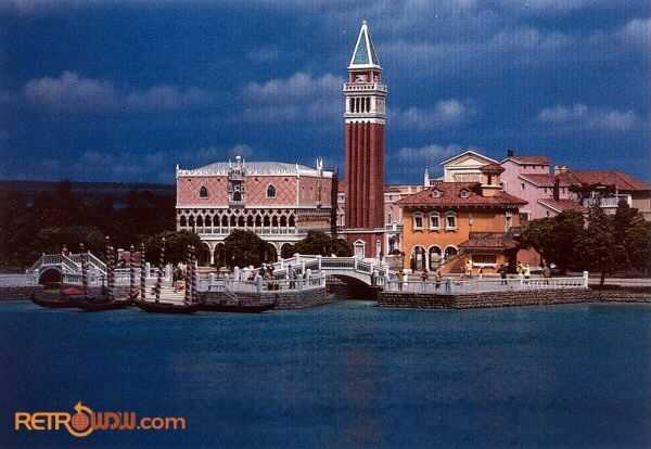 Italy Pavilion Model Photo Cred RetroWDW